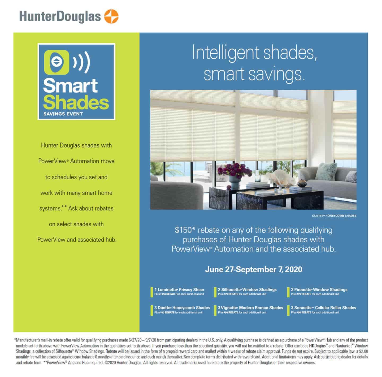 Smart Shades Sales Event promo